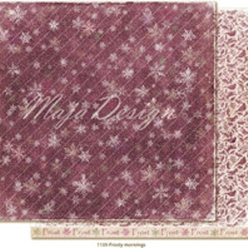 "Maja Design Ark 12x12"" - Winter is coming - Staying inside"