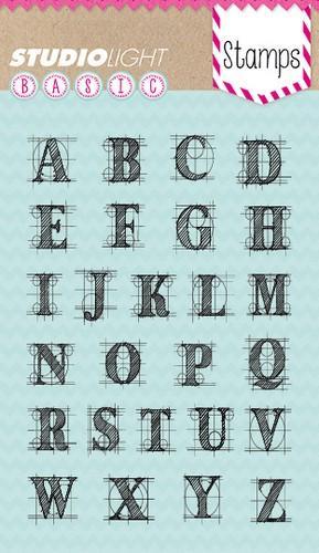 Studio Light Stamps - Alphabet sl204