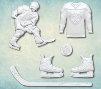 ProSvet Silikonform, hockey md0596