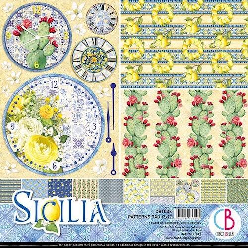 Ciao Bella Patterns Pad 12x12, Sicilia
