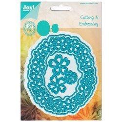 Joy! Die 6002/0632 frame with flowers