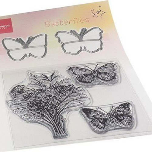 Marianne design, stamp&dies, butterfly TC0880