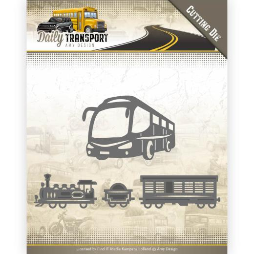 Amy design -  Transport train & bus ADD10131