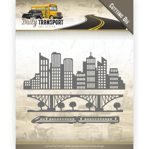 Amy design -  In the city ADD10129
