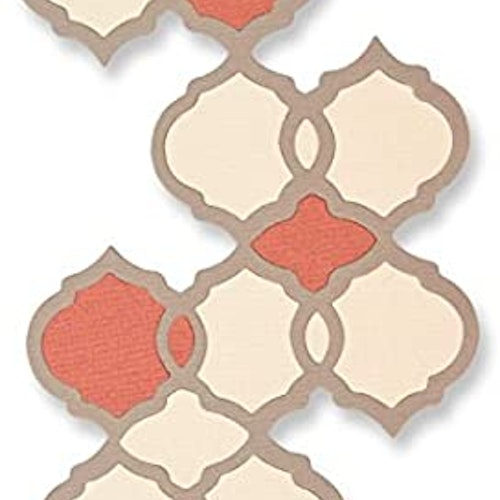 661725 Sizzix Thinlits Die - moroccan tile