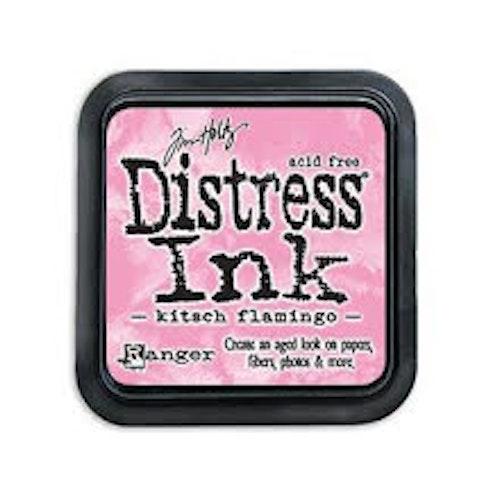 Distress ink pad, Kitsch Flamingo