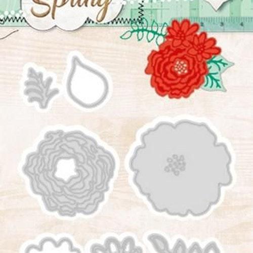 Studio light dies - Spring flowers stencilss77