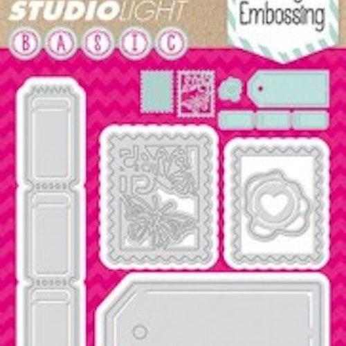 Studio light dies - Basic Dies StencilSL26