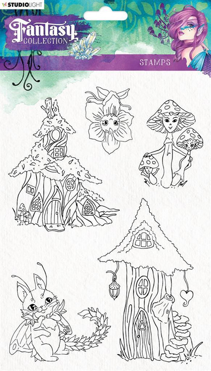 Studio Light Clear stamps - Fantacy collection fc376