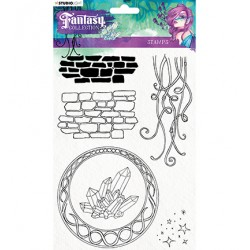 Studio Light Clear stamps - Fantacy collection fc377