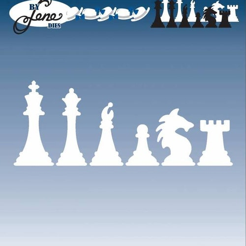 By Lene Dies - Chess pieces BLD1050