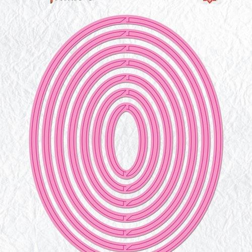 Nellie Snellen Dies  - revolving oval mfd091