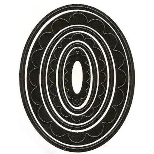 Nellie Snellen Dies  - oval mfd013