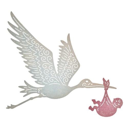 Cheery Lynn dies - Stork & baby
