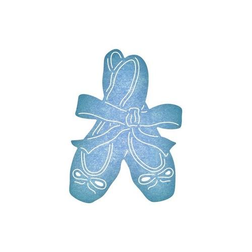 Cheery lynn die - ballet slipper