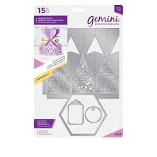 Gemini Die set -  Hexagon gift box