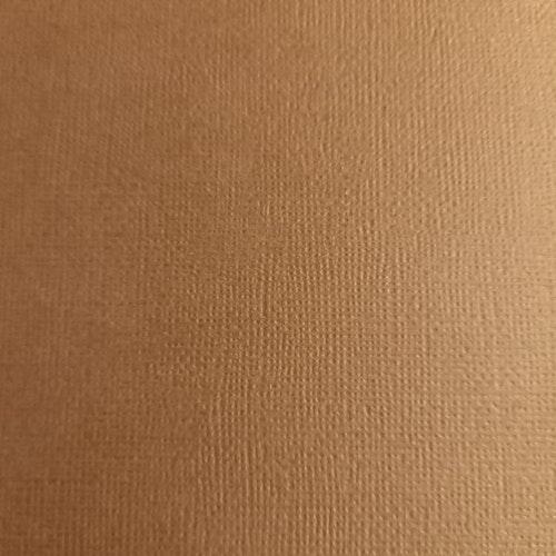 "American crafts cardstock 12""x12"" -Chestnut 71048"