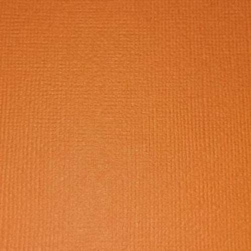 """American crafts cardstock 12""""x12"""" - Carrot 71032"""