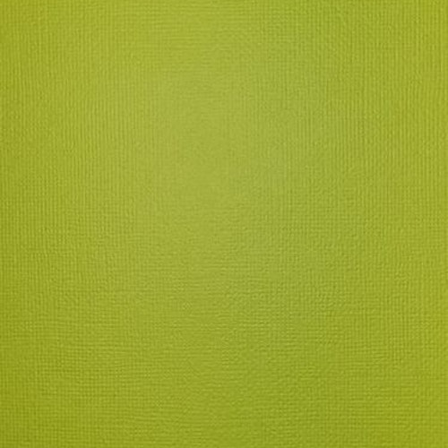 "American crafts cardstock 12""x12"" - Key lime 71061"
