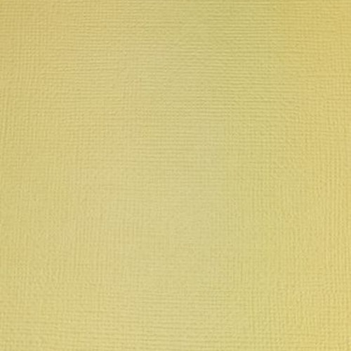 """American crafts cardstock 12""""x12"""" - Straw 71042"""
