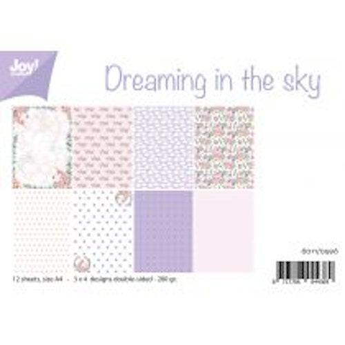 Joy!Crafts, A4 Papper 12st - Dreaming in the sky