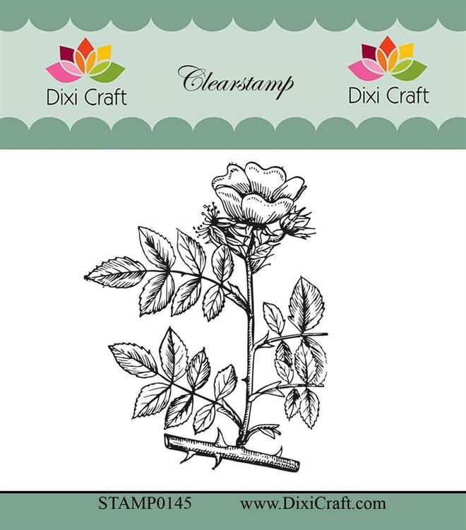 "Dixi craft clearstamp - ""Botanical Collection"" STAMP0145"