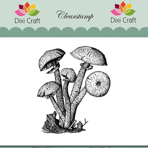 "Dixi craft clearstamp - ""Botanical Collection"" STAMP0144"