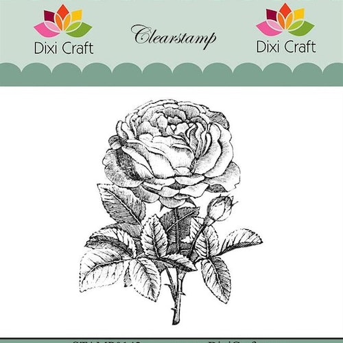"Dixi craft clearstamp - ""Botanical Collection"" STAMP0142"