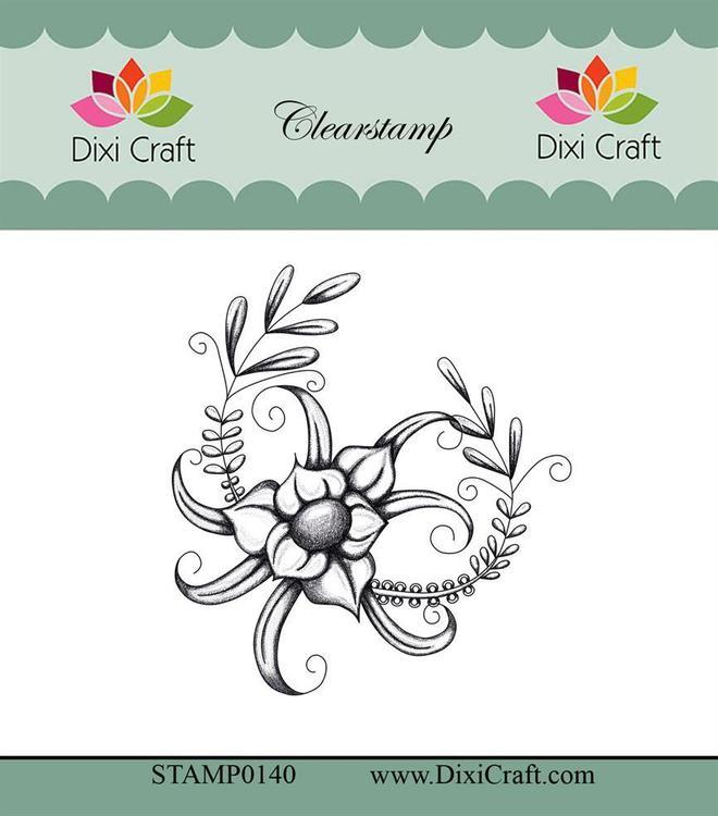 "Dixi craft clearstamp - ""Botanical Collection"" STAMP0140"