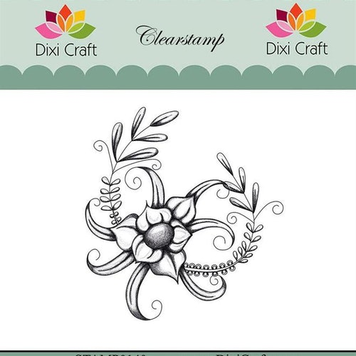 "Dixi craft clearstamp - ""Botanical Collection"" STAMP0140"