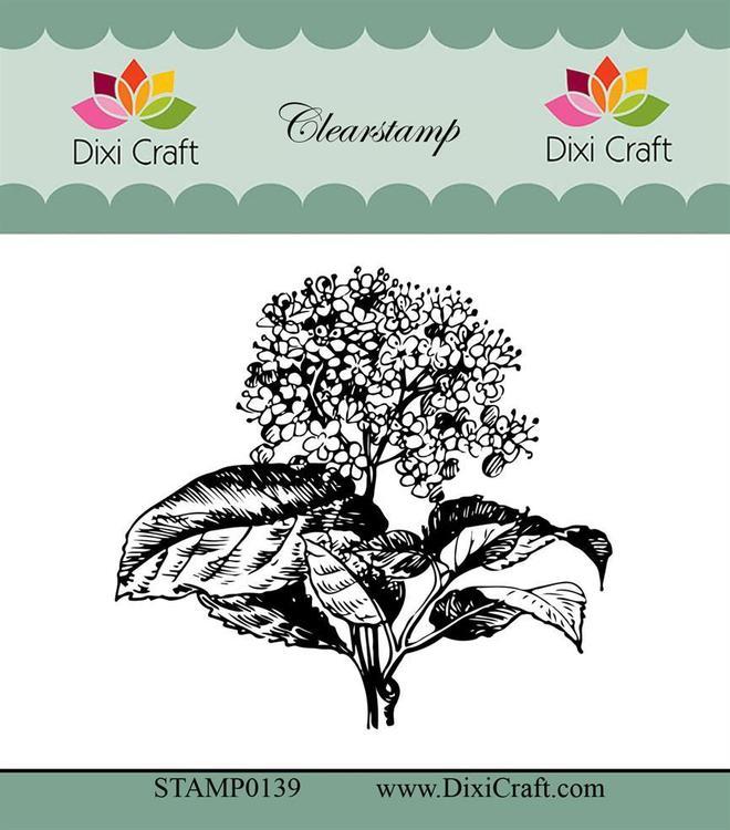 "Dixi craft clearstamp - ""Botanical Collection"" STAMP0139"