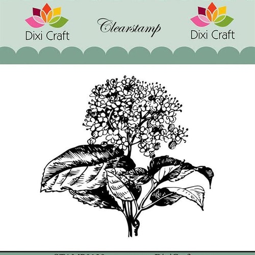 "Dixi craft clearstamp - ""Botanical Collection"" STAMP0139"