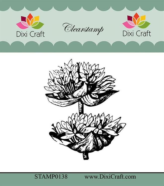 "Dixi craft clearstamp - ""Botanical Collection"" STAMP0138"