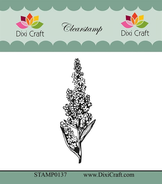 "Dixi craft clearstamp - ""Botanical Collection"" STAMP0137"