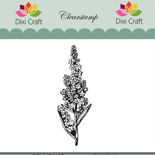 "Dixi craft clearstamp - ""Botanical Collection"" STAMP0137"