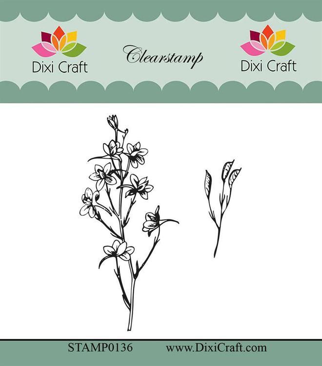 "Dixi craft clearstamp - ""Botanical Collection"" STAMP0136"