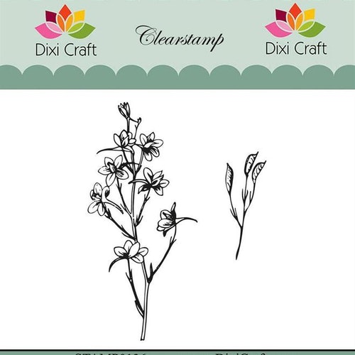 "Dixi craft clearstamp - ""Botanical Collection"" STAMP0136"