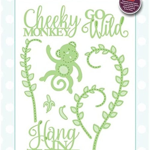 Creative Expressions Die, CED23009 - cheeky monky