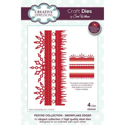 Creative Expressions Die, CED3107 - winter border