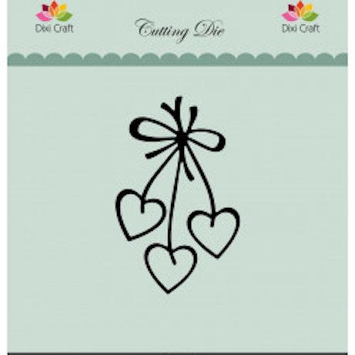 Dixi craft Dies - hearts MDL050