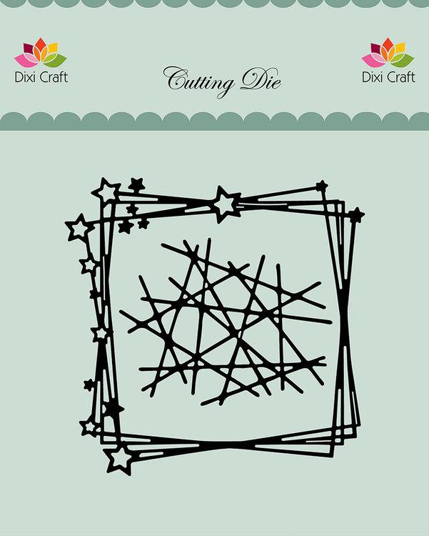 Dixi craft Dies - star background MDL067