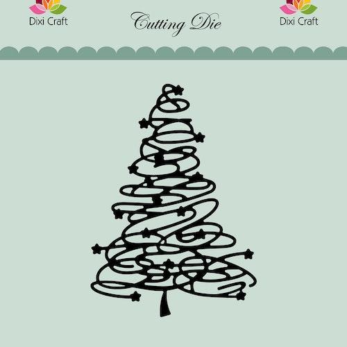 Dixi craft Dies - swirly tree MDL068
