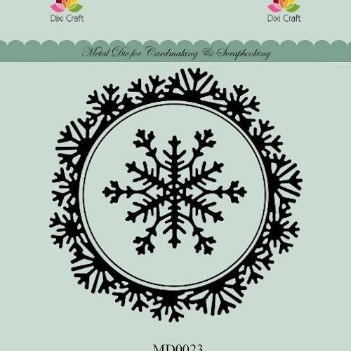 Dixi craft Dies - snowflake frame MD0023