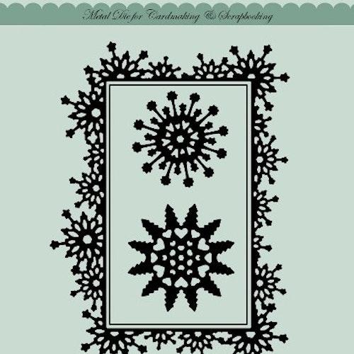 Dixi craft Dies - snowflake frame MD0024