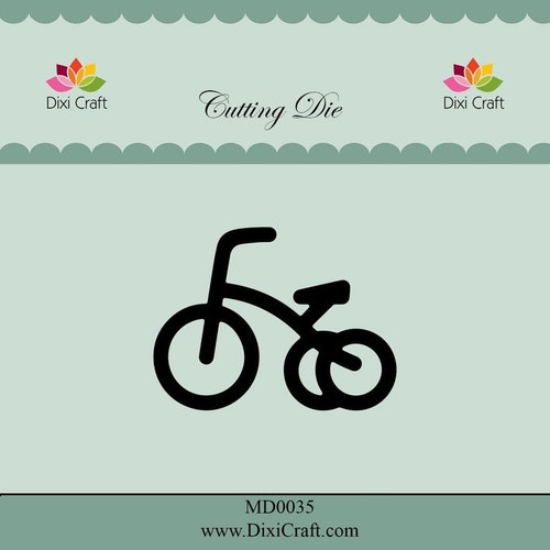 Dixi craft Dies - cykel MD0035