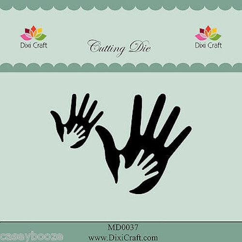 Dixi craft Dies - hands MD0037