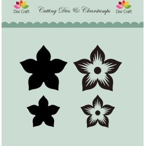 Dixi craft Dies & stamp - blomma MD0089