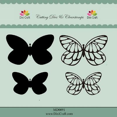 Dixi craft Dies & stamp - butterfly MD0091