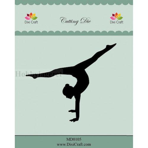 Dixi craft Dies - gymnast MD0105