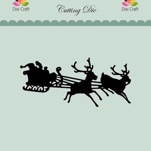 Dixi craft Dies - santas sleigh MD0157